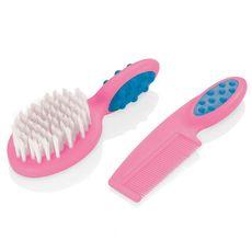 pente-e-escova-para-cabelo-soft-touch-rosa-lilas-bb207-multikids-baby