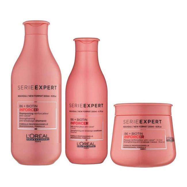 kit-shampoo-300ml---condicionador-200-ml---mascara-250ml-biotin-inforcer-loreal--3-produtos-