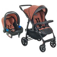 conjunto-carrinho-primus-k---bebe-conforto-tour-evol-terracota-burigotto