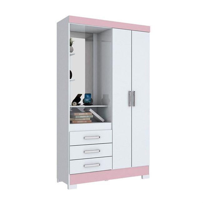 roupeiro-briz-flex-henn-b64-com-espelho---2-portas-e-3-gavetas