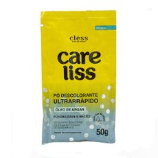 po-descolorante-ultrarrapido-oleo-de-argan-50g-care-liss-cless