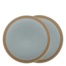 conjunto-2-pratos-de-ceramica-para-sobremesa-verde-205cm-35391-bom-goumert