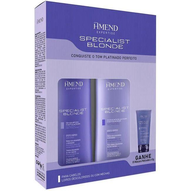 kit-shampoo---condicionador-specialist-blond-250ml-gratis-mascara-45g-amend