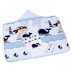 kit-3-pecas-banho-menino-estampa-filhotes-on-the-beach-minasrey