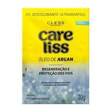 po-descolorante-ultrarrapido-oleo-de-argan-20g-care-liss-cless