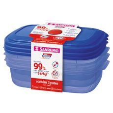 conjunto-3-potes-plastico-ultraprotect-ssr380-19s-1100ml-azul-sanremo